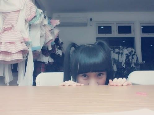 """Dari cindy gulla G+  #JKT48  """"Siangg semuaa (≧∇≦)/      Hayooo kalian lagii pada ngapainn??    Hi hi hi sharing yukkkk ^_^"""""""