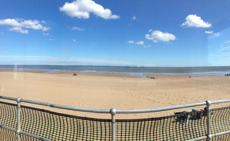 Sutton On Sea Beach in Sutton on Sea, Lincolnshire