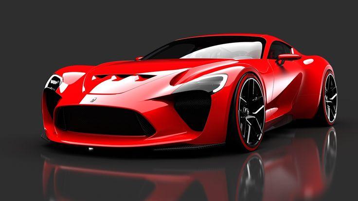 612 Gto Iii By Sasha Selipanov Cars Concept Italian