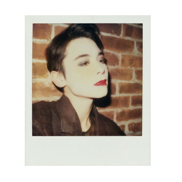 Tina Chow Polaroid Photograph | From a collection of rare vintage other at http://www.1stdibs.com/fashion/ephemera/other/