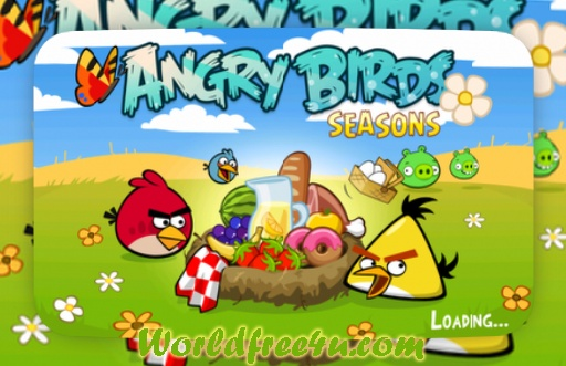 Cover Of Pc Game Angry Birds Seasons HD (2011) Version 15 Download Full Game Free at latesthacksandtricks.blogspot.com