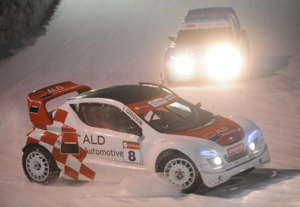 Andros Electrique: Val Thorens course 1.