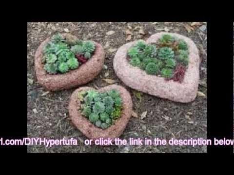 How to Make Hypertufa - DIY Hypertufa Projects - YouTube