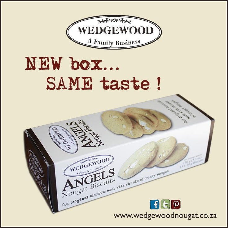 Our heavenly Angels biscuits have gotten a fresher-looking home recently!