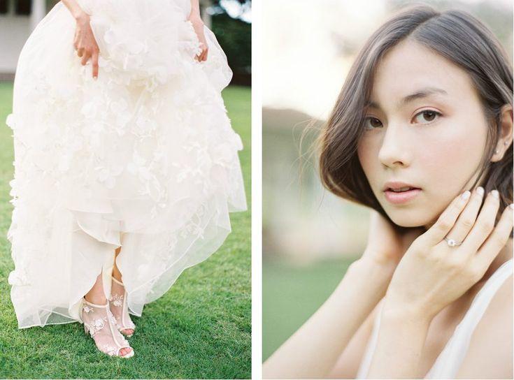 Photography: Christine Clark #hawaii #bellabelleshoes #ウエディングシューズ #ウエディング #結婚式 #ハワイ
