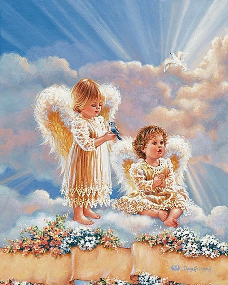 Ангелы на постерах