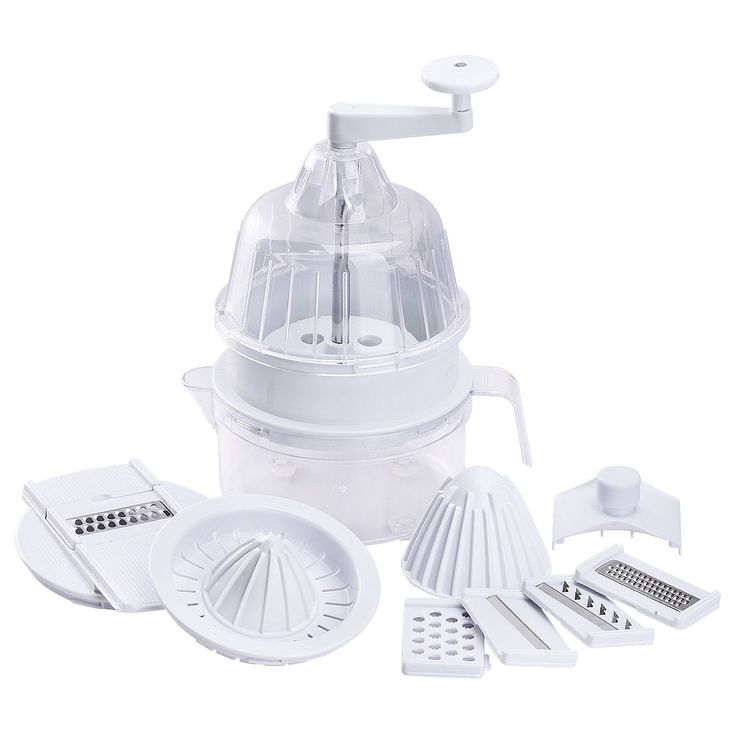 Coutlet Multi-Functional Vegetables Machine, A Spiral Vegetable Cutter, A Vegetable Grater With 5 Blades, A Manual Fruit Juice Squeezer