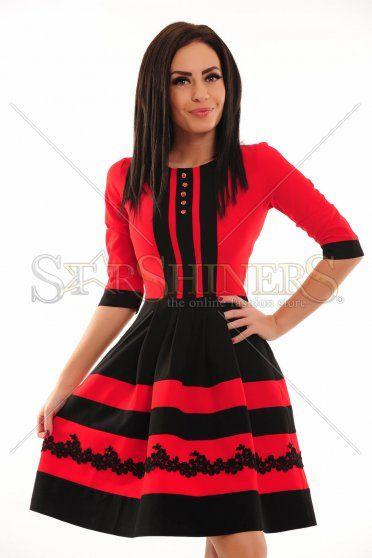 Rochie LaDonna Sundry Charm Red