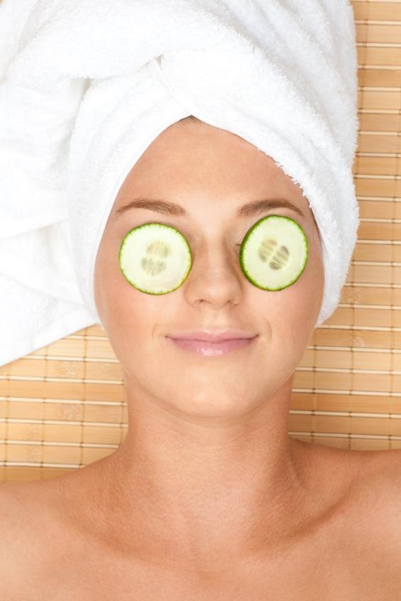 Mascarilla para la piel grasa de pepino y limón