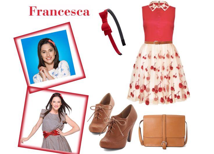 Tenue 1 Francesca Violetta Pinterest Fashion Style
