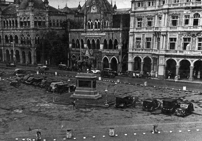 King's Statue Street, Mumbai, 1940 - 1880 to 1950 : Rare Old Mumbai Photos - (10 Pictures)