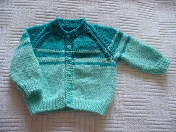 2 baby boy knits