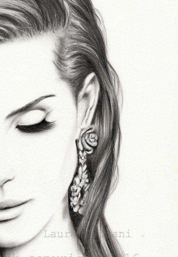 lana del rey art print - photo #35