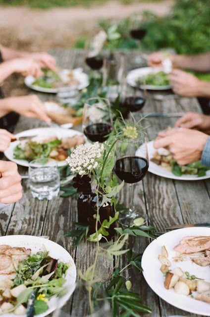 """ATELIER RUE VERTE , le blog: Mariage / Inspirations pour un mariage """"Kinfolk"""" avec vieille grange /"""