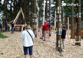 Forest playground in Lipno | Unipark