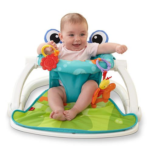 "Fisher-Price Sit-Me-Up Floor Seat - Frog - Fisher-Price - Babies ""R"" Us"