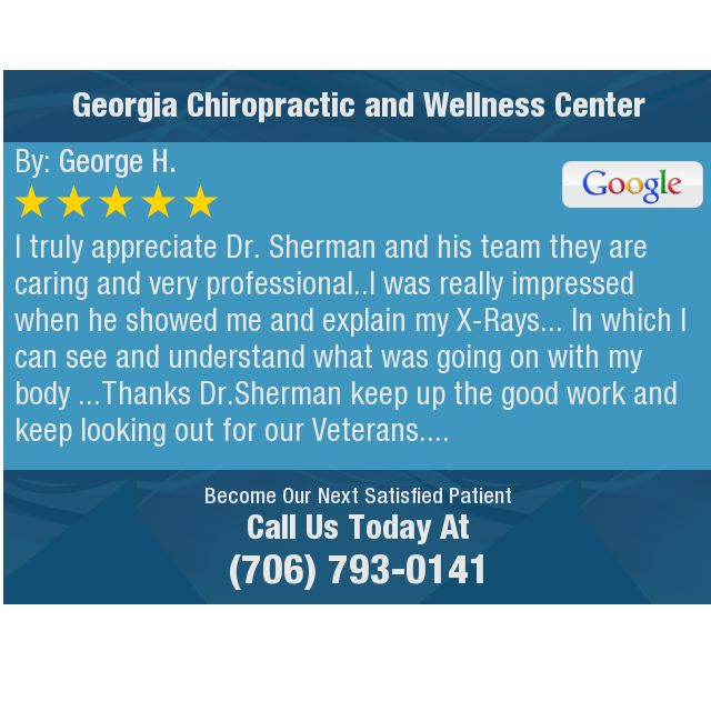 I Truly Appreciate Dr Sherman And His Team They Are Caring And