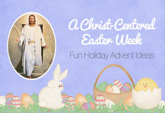 A Christ-Centered Easter Week {family holiday traditions} - Celebrate Easter all week long with Christ-Centered Scriptures, lessons & activities. The lessons follow Christ's last week on Earth & his Ressurection on Easter Sunday. #Easter, #FunFamilyTraditions, #HolidayTraditions