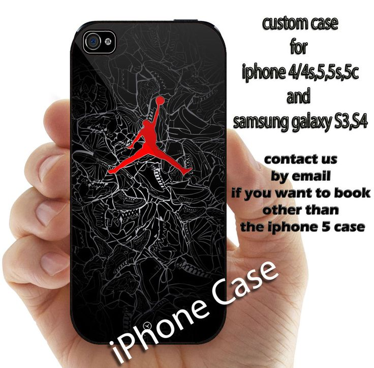 air jordan nike black for iphone 4 4s 5 5s 5c 6 and samsung galaxy S3 S4 S5 case #UnbrandedGeneric