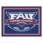 Ncaa - Florida Atlantic University Blue 10 ft. x 8 ft. Indoor Rectangle Area Rug