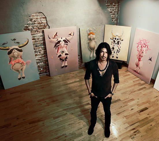 Ruben Carrasco, Studio, Montreal