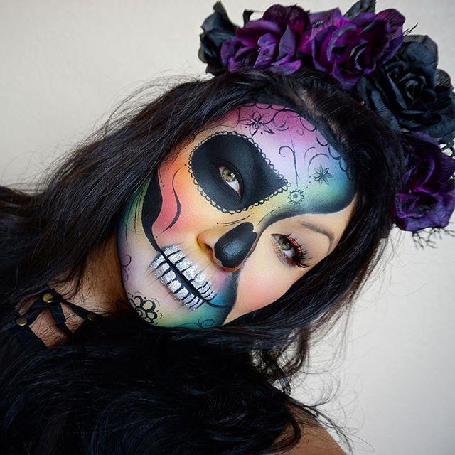 96 best skulls cattinas images on Pinterest | Halloween ideas ...