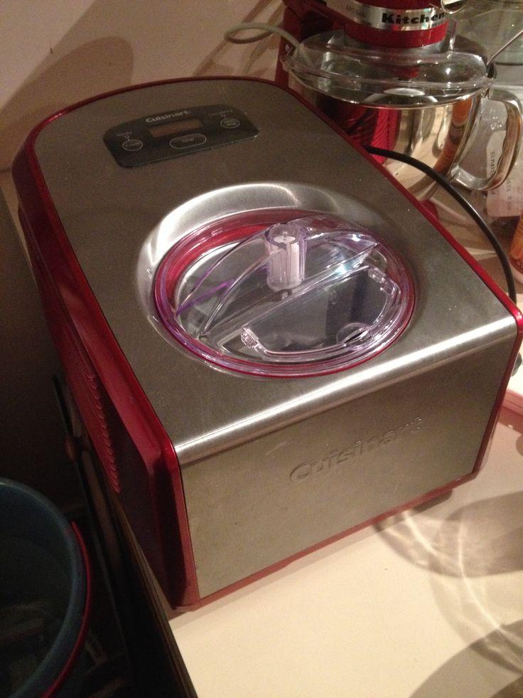 My Cusinart Ice-Cream Machine