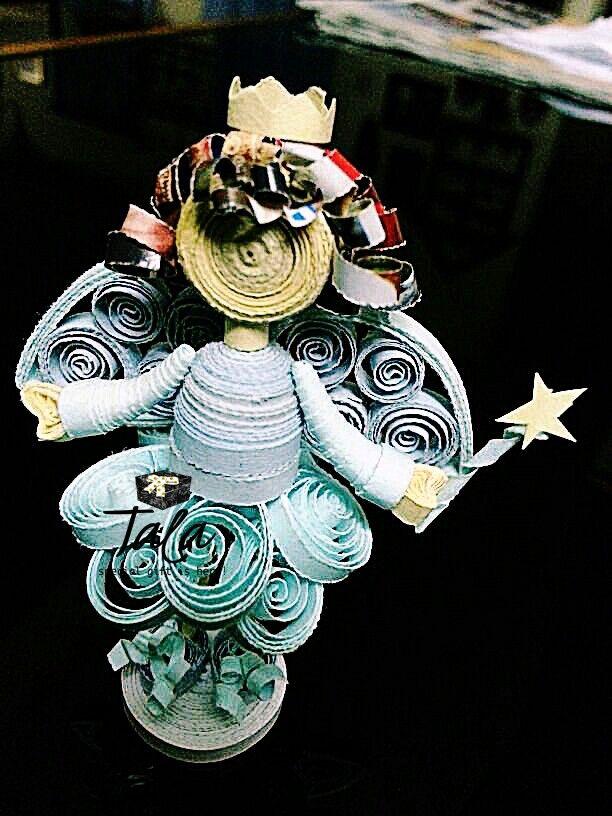 #talapaperquilling #paperart #craft #gift #art #jakartaolshop #jakartaonlineshop #handcraft #cute #customorder #jakarta #asia #indonesia #fairy #peri
