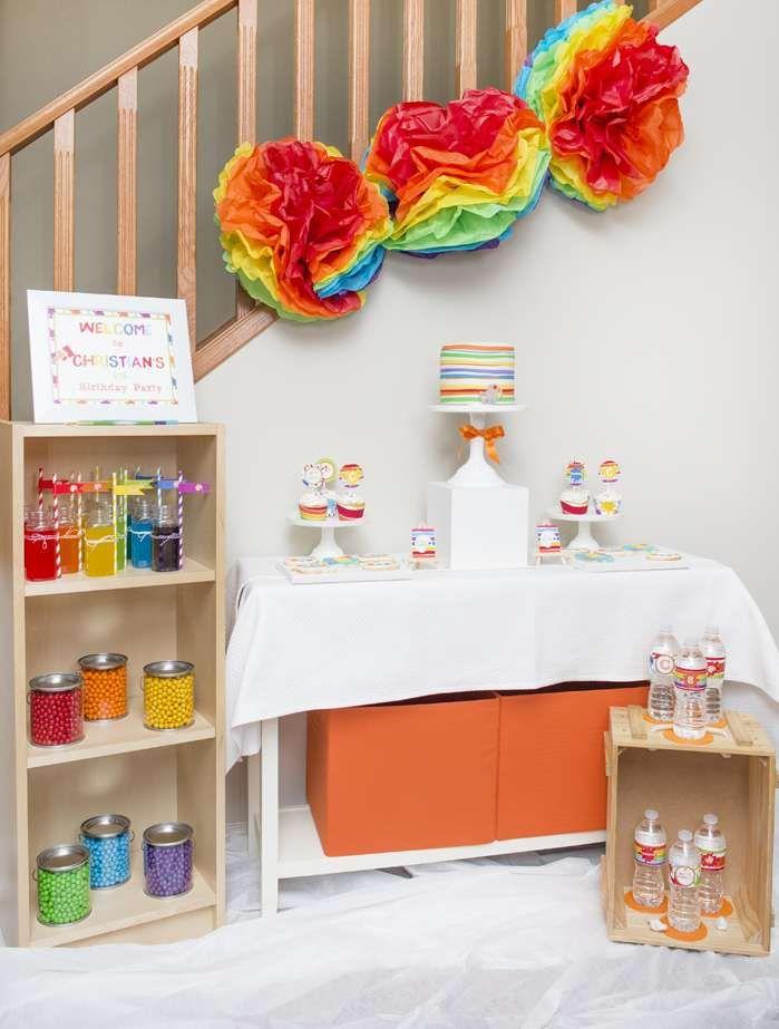 272 best Art Party Ideas images on Pinterest | Birthday party ideas ...