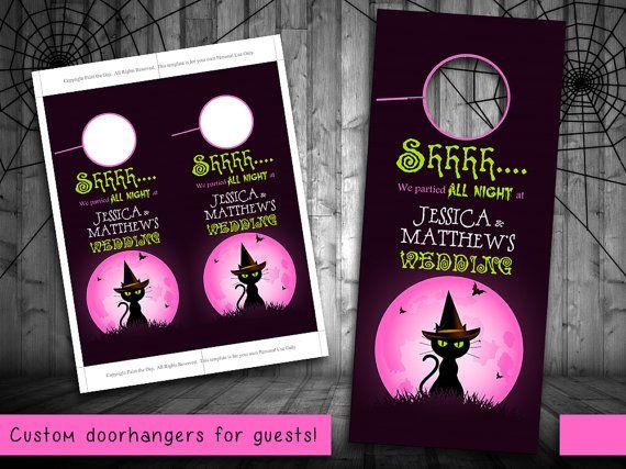 194 best Autumn Wedding images on Pinterest Pumpkins, Booklet - door hanger design template