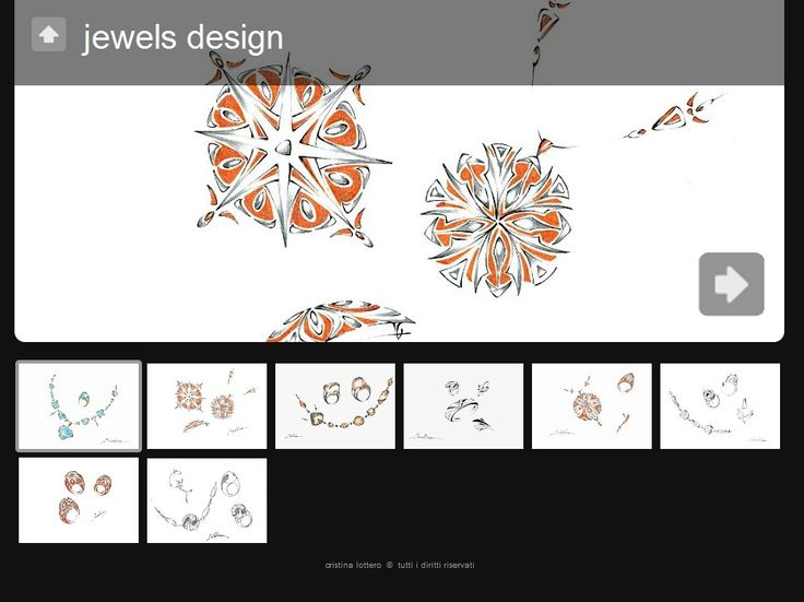 jewels design...ovvero l'ideazione e progettazione di gioielli e bijoux esclusivi realizzati con metalli nobili e gemme preziose