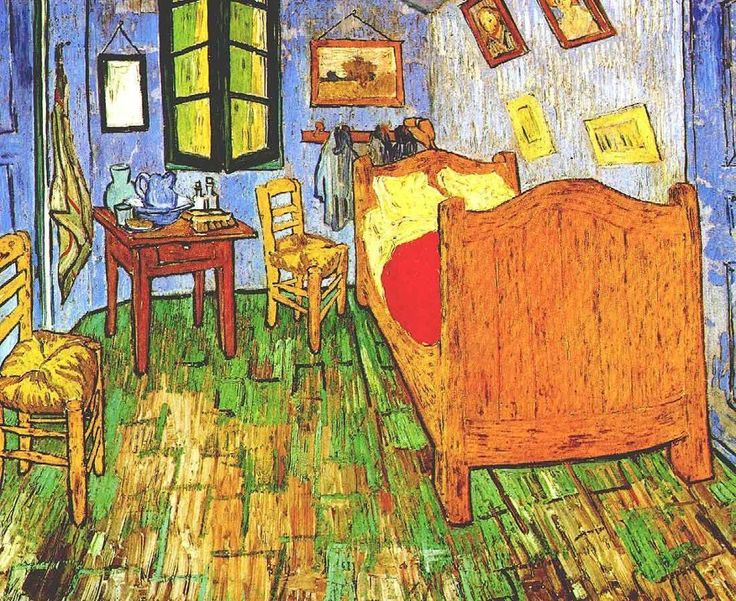 17 best Van Gogh\'s Bedroom is on Airbnb! images on Pinterest ...