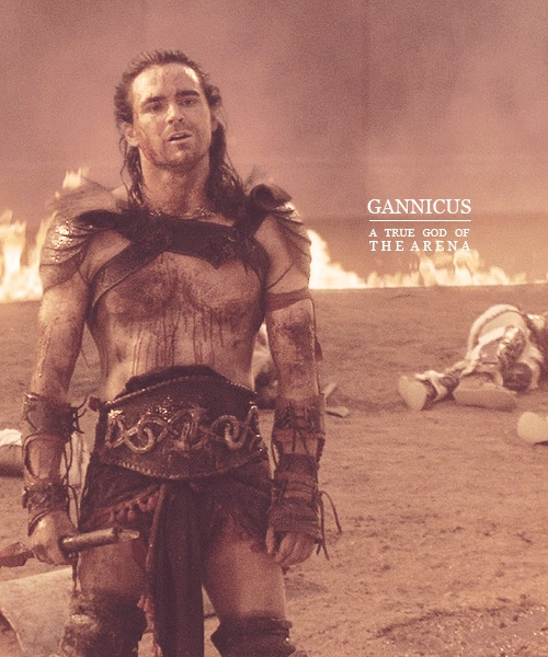 Gannicus is awarded his freedom for vanquishing his foe in the arena.