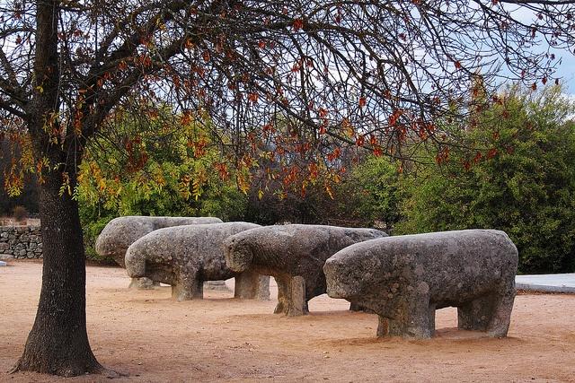 Toros de Guisando, Ávila.
