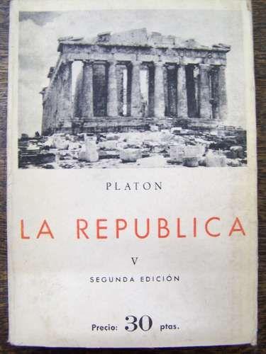 Obra de Platon la Republica