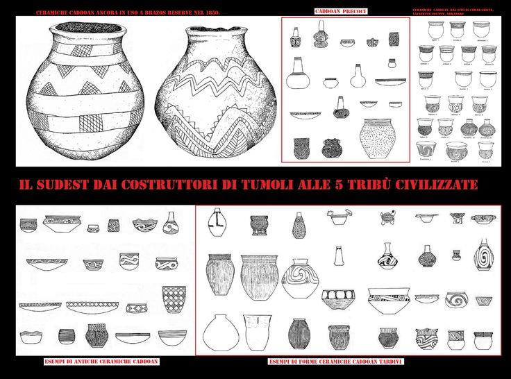 Per mille anni le donne Caddo hanno fabbricato la più bella ceramica a est delle Montagne Rocciose. Anche se molti altri gruppi del sudest hanno creato alcuni straordinari oggetti in ceramica, nessuno ha eguagliato i Caddo in termini di varietà, di qualità e l'espressione artistica.