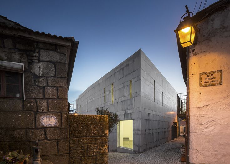 Jewish cultural centre with an angled corner