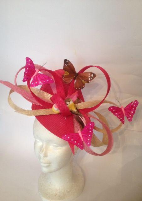 création chapeau de mariage Un chapeau à Auteuil