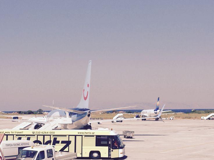 Flygplatsen på Rhodos
