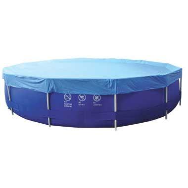 Cover Sirocco rond 450 cm  Een afdekkleed zorgt ervoor dat het water van je zwembad minder vuil wordt. Het houdt vuil takjes en blaadjes uit het zwembadwater zodat het schoner blijft. Geschikt voor ronde zwembaden van 450 cm.  EUR 16.99  Meer informatie
