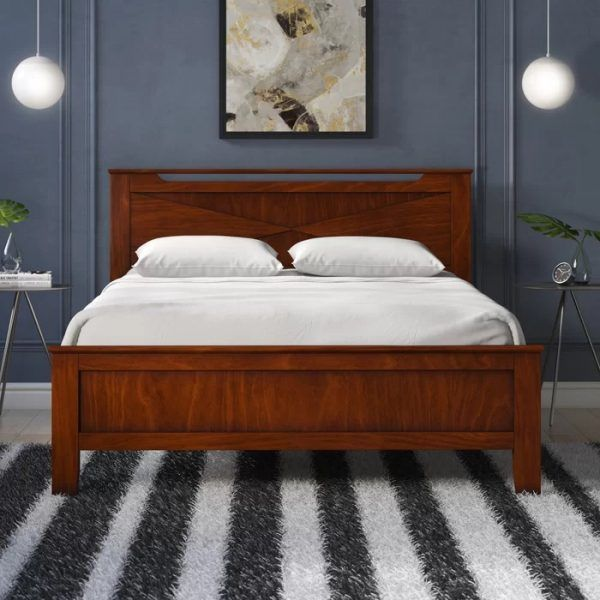 Gambar Tempat Tidur Kayu Sederhana