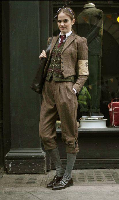 Tweed run. fairisle, tweed, knickerbockers