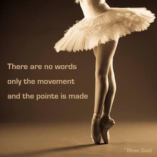 Ballet quote