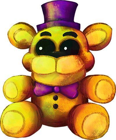 Five Nights at Freddy's FNaF4 - Plush Fredbear by kaizerin on DeviantArt