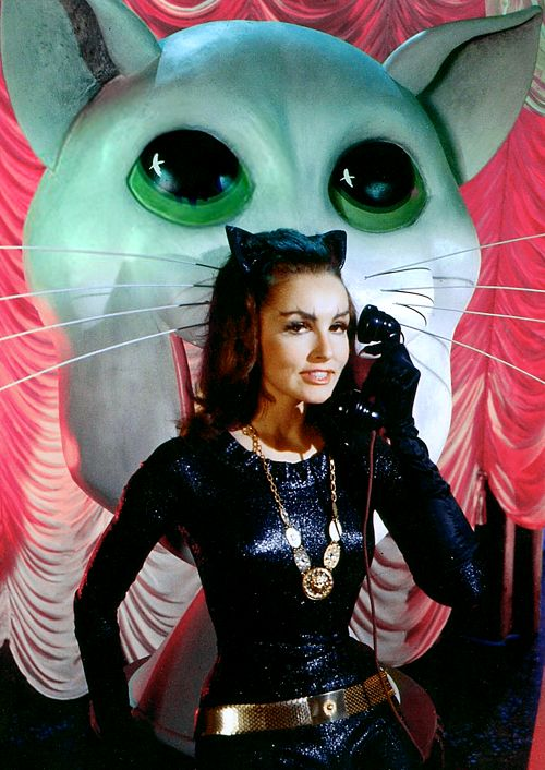 Julie Newmar as Catwoman, 1960s