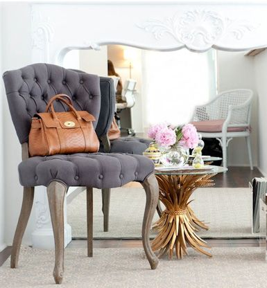 pin tuck chair