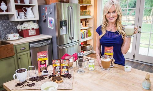 @Sophie Uliano  Homemade & Healthy #Lattes as seen on #HomeandFamilyTV!