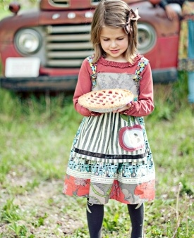 Matilda Jane has the cutest clothes for little girls, an especially great mix-n-match selection for twins!