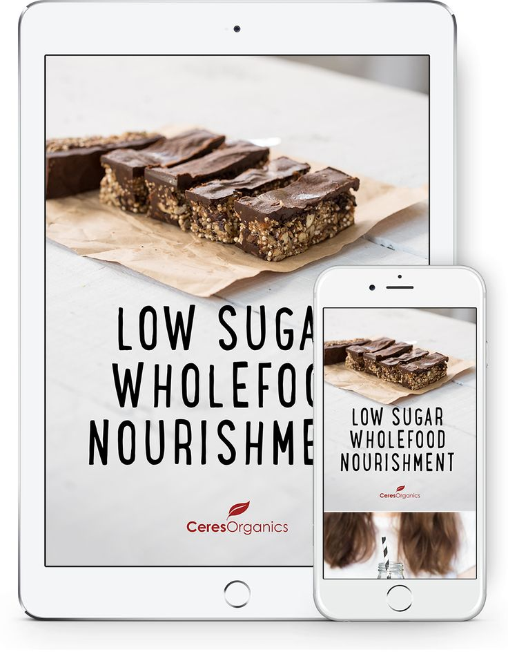 Low Sugar Wholefood Nourishment Recipe Ebook