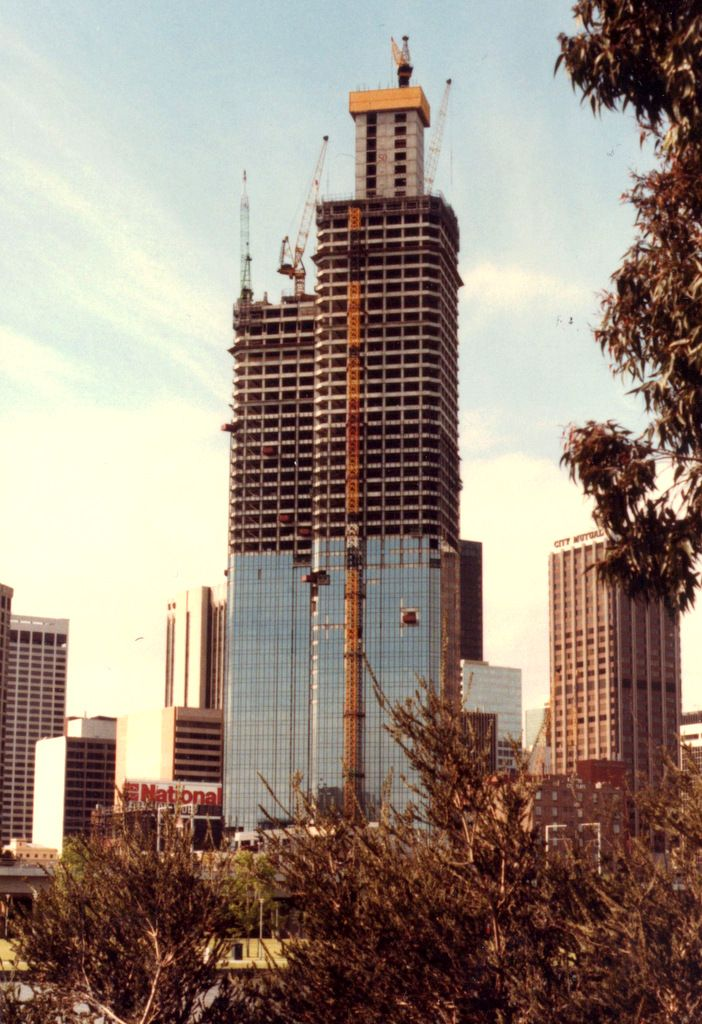 Rialto Towers Under Construction Located At 525 Collins